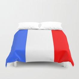 Drapeau français Duvet Cover