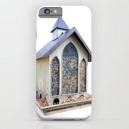 bird feeder iPhone Case