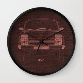 Niva's power Wall Clock