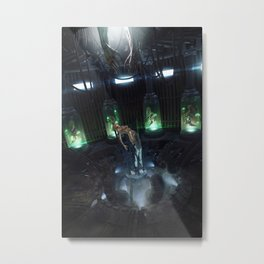 Ginetika Metal Print