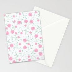 Floral pattern design Stationery Cards