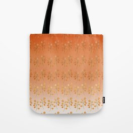 """""""Cactus flowers in soft orange"""" Tote Bag"""