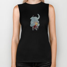 Mr. Elephant & Mr. Mouse 'Bicycle' Biker Tank