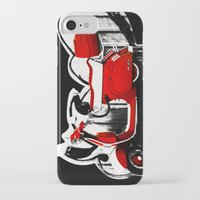 vespa iPhone & iPod Cases featuring Vespa by absoluca
