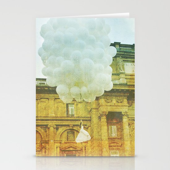 US AND THEM _ leaving them Stationery Cards