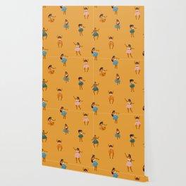 Hula party Wallpaper
