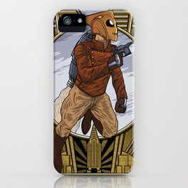 A rocket man. iPhone Case