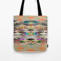 sex and the city Tote Bags featuring RHOMBOID SEX by ICE CREAM FOR FREE