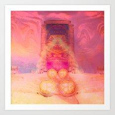 Anubis Gateway Art Print