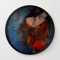 imagerybydianna Wall Clocks featuring changing seasons by Imagery by dianna