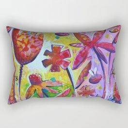 The Sunshine Peeks Through Rectangular Pillow