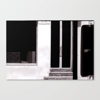 bar Canvas Prints featuring bar by tatlin@home