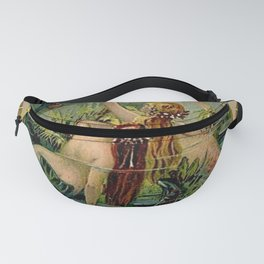 Gold of Rhine Vintage Mermaids Fanny Pack