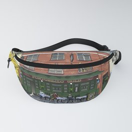 Clouds Over London Fanny Pack