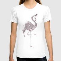 flamingo T-shirts featuring Flamingo  by LouJah
