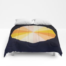 Yellow dodecagon  Comforters