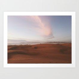 OCEANO DUNES ((2)) Art Print