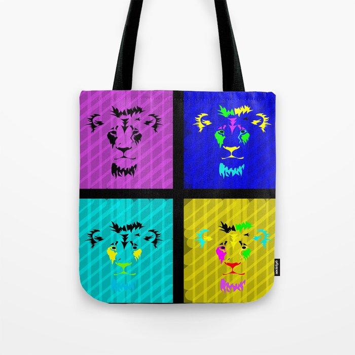 Jungle Kings Tote Bag