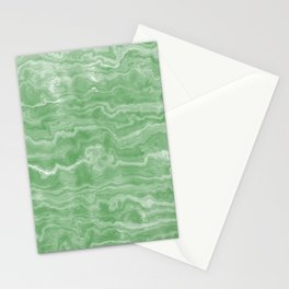 Egyptian Marble, Jade Green Stationery Cards