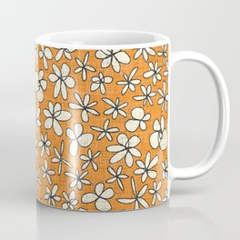 garland flowers orange Coffee Mug