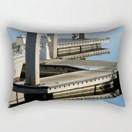 Boat Docks Rectangular Pillow
