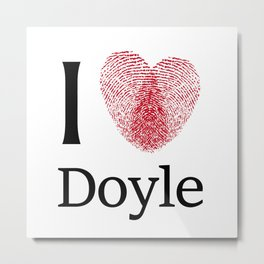 iDoyle Metal Print