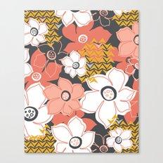 Petals & Pods - Sorbet Canvas Print