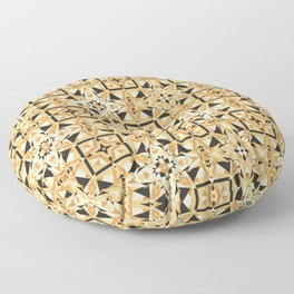 Cookie Or Hardwood? Try And Find Out! Seamless Pattern Floor Pillow