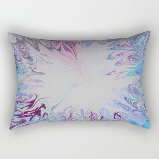 TieDie Water Rectangular Pillow