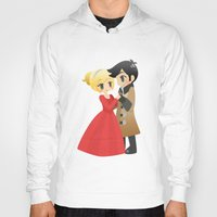 ouat Hoodies featuring OUAT - Captain Swan Formal by Choco-Minto