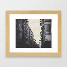 Stick 2gether Framed Art Print