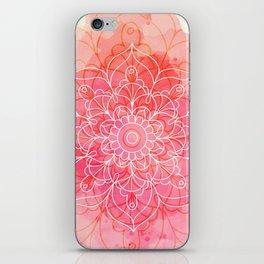 Pink Watercolor Mandala #lifestyle #society6 iPhone Skin