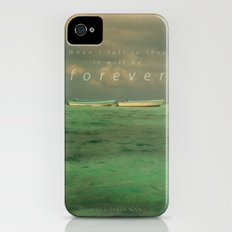 When I fall in love.... iPhone (4, 4s) Slim Case