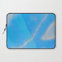 Silky Blue Sky Soft Love Boho Silk Print Laptop Sleeve