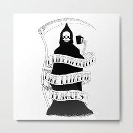 Bubonicaffeine Metal Print
