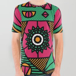 CrystalWitch All Over Graphic Tee