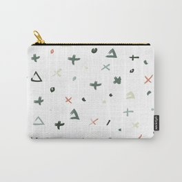 Abstract Christmas Carry-All Pouch