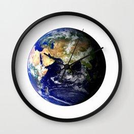 Earth Globe Wall Clock