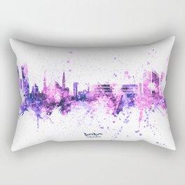 Beirut Lebanon Skyline Rectangular Pillow