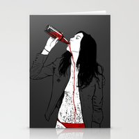 drink Stationery Cards featuring DRINK by CoCoCo