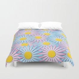 Spring daisies Duvet Cover