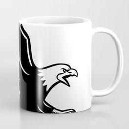Screaming Eagle Side Retro Coffee Mug