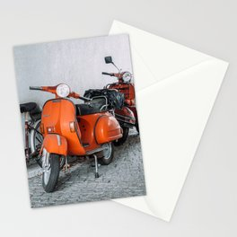 Let's go see the world on our Scooter Stationery Cards