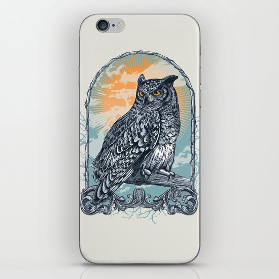 Twilight Owl iPhone & iPod Skin