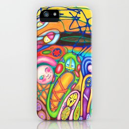 Surface Dreams iPhone Case