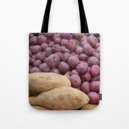 Farmer's Market Sweet Potatoes Tote Bag