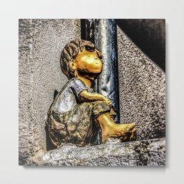Little Boy Metal Print