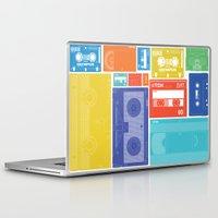 cassette Laptop & iPad Skins featuring Cassette Heaven by Scott - GameRiot