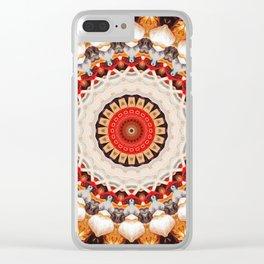Garlic And Yarn Clear iPhone Case
