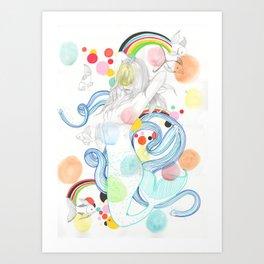 The Siren Art Print